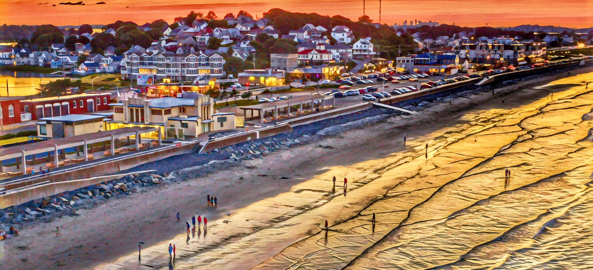 nantasket beach in hull mass